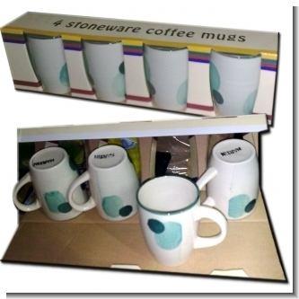 Lee el articulo completo JUEGO DE 4 TAZAS PARA CAFE