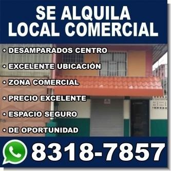 Informacion  Local Comercial en el centro de Desamparados