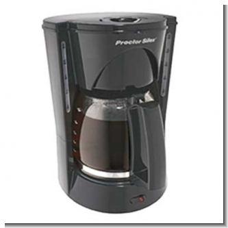 Lee el articulo completo COFFEE MAKER 12 TAZAS PROCTOR SILEX NEGRO