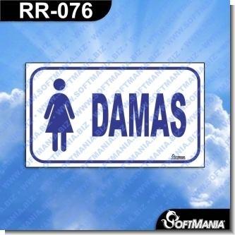 Lee el articulo completo Rotulo Prefabricado - DAMAS